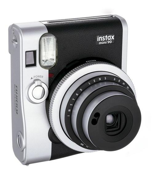 Câmera Instax Mini 90 Fujifilm Instaxmini90 Marrom
