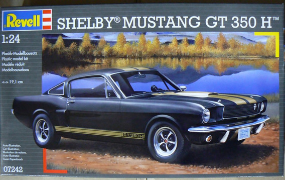 Shelby Mustang Gt 350 H Revell 7242 Escala 1/24 M