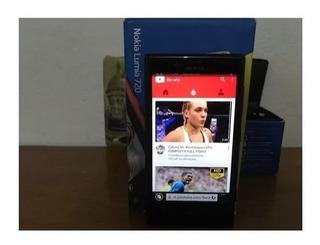 Usado Nokia Lumia 720 Preto Câmera 6.7mp 8gb Tela De 4,3