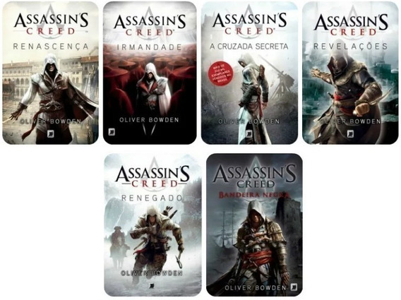 Kit 6 Livros Assassin