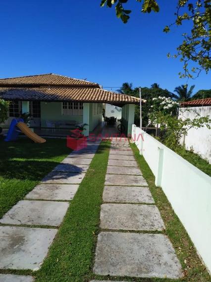 Casa 3/4 Com 2 Dependências Completas Em Vilas Do Atlântico. - 93150291