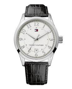 Relógio Masculino Tommy Hilfiger 1710266 Original Couro