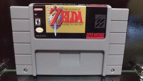 Fita / Cartucho Legend Of Zelda Link The Past Snes Salvando