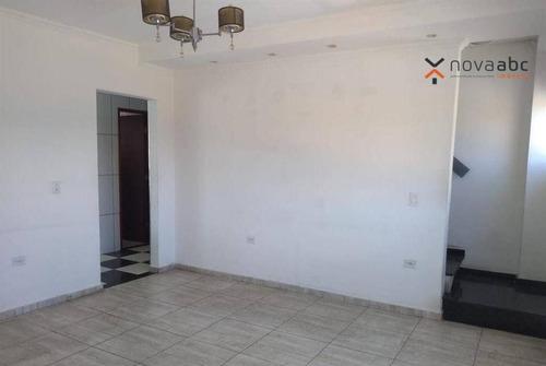 Sobrado Com 2 Dormitórios Para Alugar, 115 M² Por R$ 1.700,00/mês - Vila Guarani - Mauá/sp - So1003