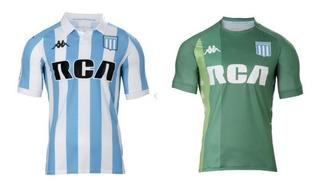 2x1 Racing Camisetas Titular + Camiseta Arquero Kappa Envío
