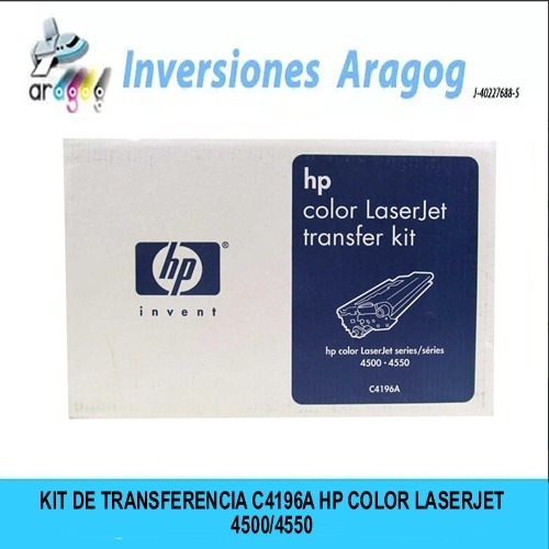 Kit De Transferencia C4196a Hp Color Laserjet 4500/4550