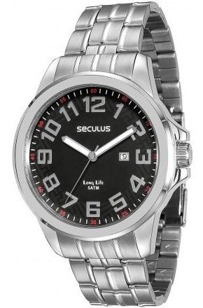 Relógio Seculus Masculino 28699g0svna1 Original Novo Barato