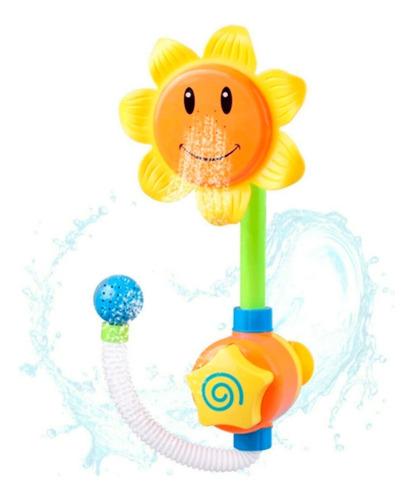 Imagen 1 de 5 de Juguete Para Baño Infantil - Flor Lluvia