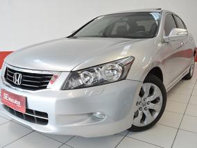 Accord Ex 3.5 V6 |top De Linha + Revisões Honda + Teto Solar