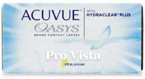 Lentes De Contacto Acuvue Oasys, Reemplazo Quincenal  Neutra