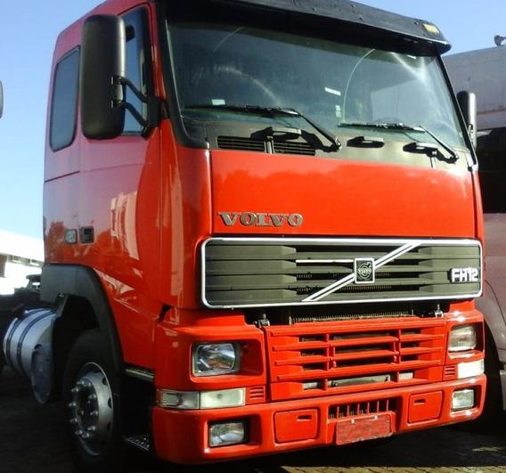 Volvo Fh 420 - 6x2 - 2002 - Teto Baixo - Primeiro Caminhão