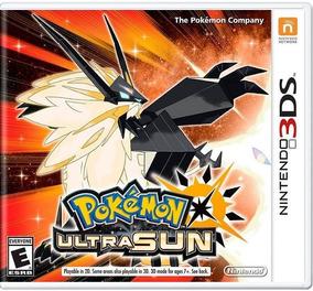 Pokémon Ultra Sun - Mídia Física Lacrado - 3ds