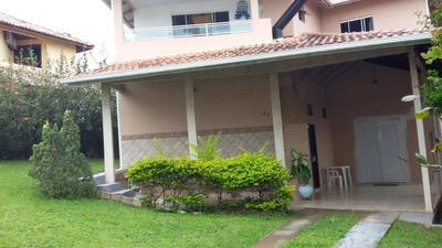 Casa Com 5 Quartos (01 Suíte), Com Lareira, E Amplo Terreno Na Praia Dos Ingleses, Florianópolis Sc - Ca2122