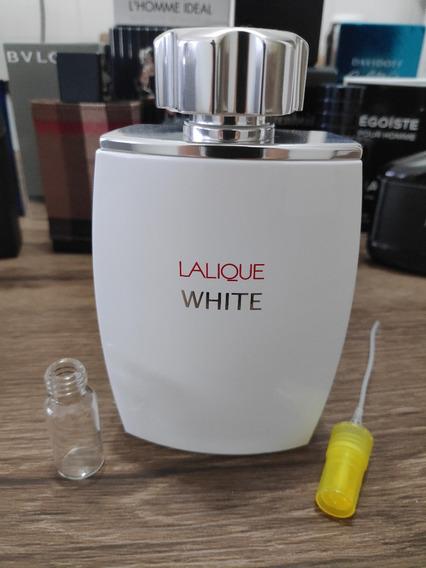Decant / Amostra Lalique White Pour Homme 5ml