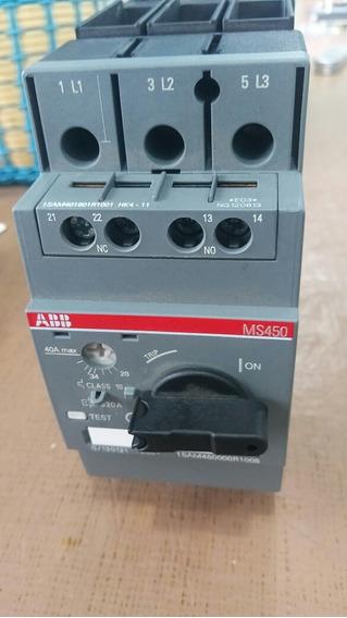 Guardamotor Trifasico Abb Variable De 28 A 40 Amp