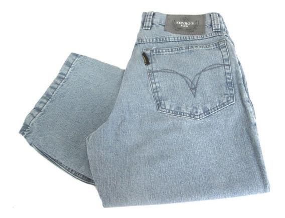 Calça Jeans Masculina 100% Algodão Reta 44 (24805)