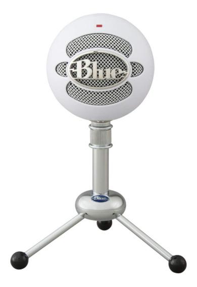 Microfone Condensador Blue Snowball Multipadrão Superior Ice