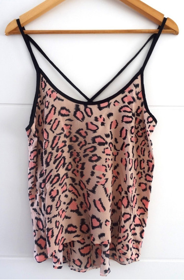 Musculosa Mujer Animal Print