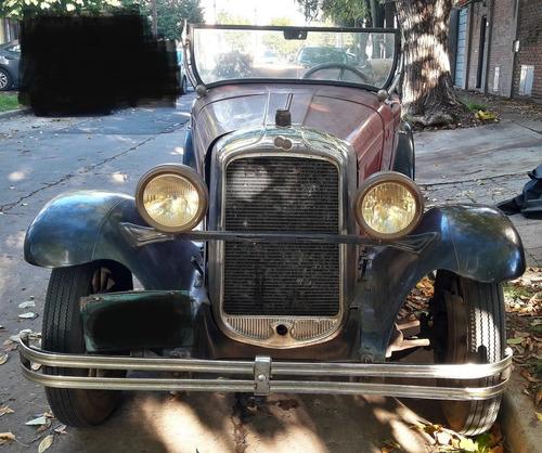 1928 Pontiac Chevrolet Descapotable Big Six Double Phaeton