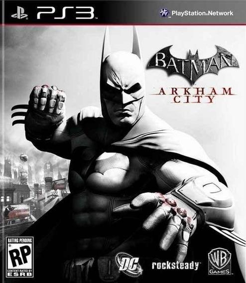 Batman Arkham City Ps3 Jogo Infantil Criança Digital Barato