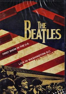 The Beatles Live In Washington Primer Concierto Dvd