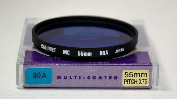 Filtro Calumet Mc 55mm 80a