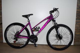 Bicicleta Bruzzoni Lady Rodado 27.5 21v Frenos A Discos