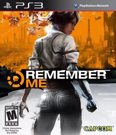 Remember Me + Medal Frontline Original Psn Ps3 Envio Rápido