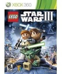 Jogo Usado Lego Star Wars Iii The Clone Wars Para Xbox 360