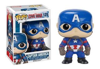Funko Pop | Civil War Capitán América 125