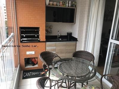 Apartamento Para Venda Em São Paulo, Cidade São Francisco, 2 Dormitórios, 2 Suítes, 3 Banheiros, 2 Vagas - 8550