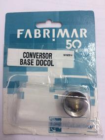 Conversor Base Docol X Fabrimar Cromado Ref. 3158