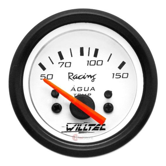 Medidor Temperatura Água Motor Carro Marcador Relógio Painel