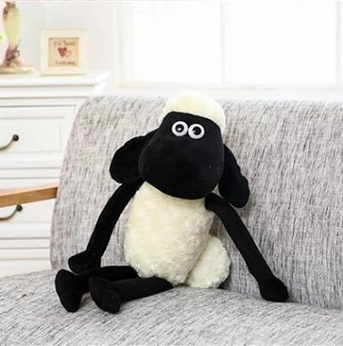 Shaun Carneiro Pelúcia Shaun The Sheep Carneiro 60cm