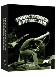 Eddie Vedder & Pearl Jam - Box 5 Dvds Rock