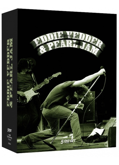 Eddie Vedder & Pearl Jam - Box 5 Dvds Rock
