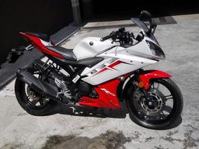 Yamaha R15 2.0 Blanca/roja Unico Dueño, Cero Caidas