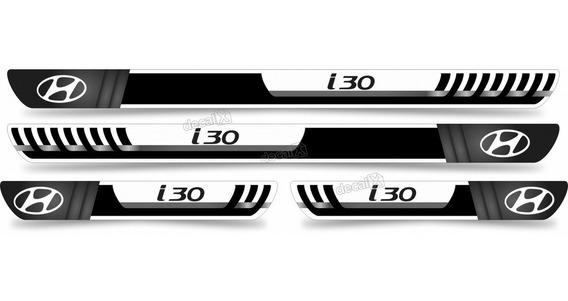 Soleira Resinada Carro Hyundai I30 Sol22 Fk