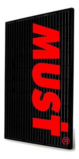 Must Panel Solar 370watts Monocristalino Perc Pack 3 Unidade