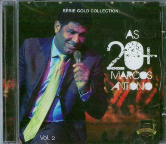 Cd Marcos Antônio - As 20 + / Série Gold Collection - Vol. 2