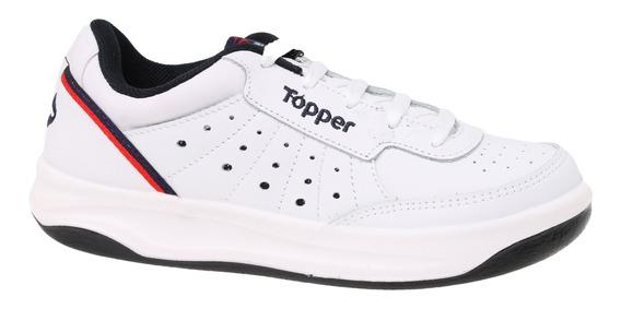 Zapatillas Topper C Tennis X Forcer Hombre Bl/mn
