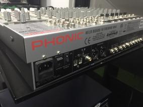 Gravadora Mesa De Som Phonic Firewire Única Preço Baixo