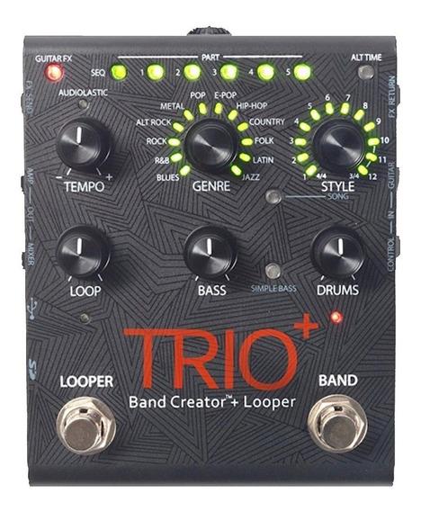Pedal Guitarra Digitech Trio Plus Band Creator Looper