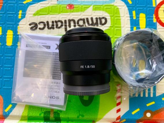 Sony Fe 50mm F/1.8 Lente Pra Full Frame