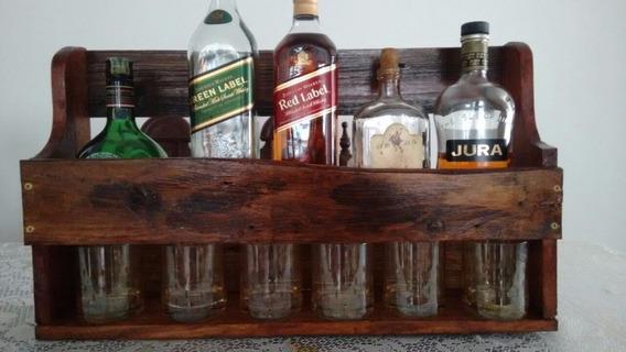 Adega Prateleira De Vinhos E Bebidas Whisky Envio Rápido