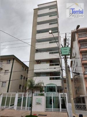 Apartamento Em Praia Grande, 01 Dormitório, No Canto Do Forte, Ap2078 - Ap2078