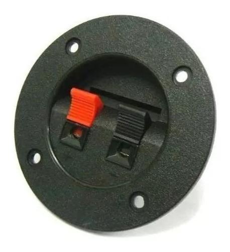 Conector Borne Redondo Para Caixa Acústica ( 40 Peças )
