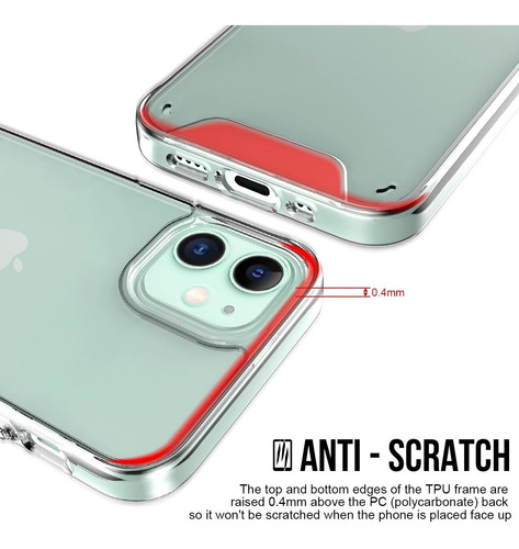 Case Transparente iPhone XR / Xs Max / 11 / 11 Pro / 11 Pmax