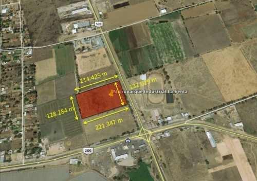 Terreno Industrial En Venta Sobre Carretera Estatal 500, Esquina Carretera 200, Querétaro