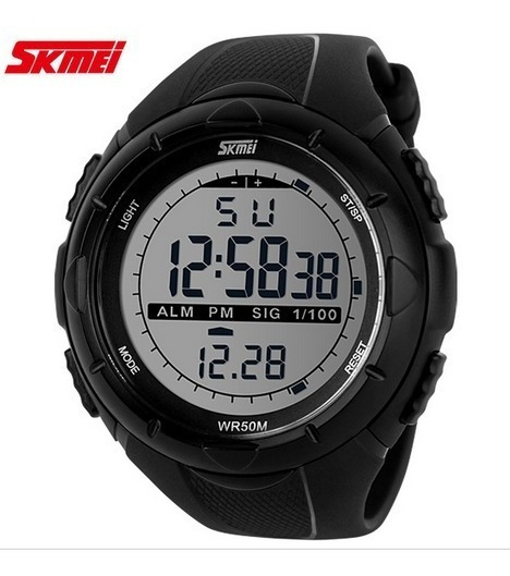 Relógio Masculino Esportivo Skmei Digital 1025 Preto+ Brinde